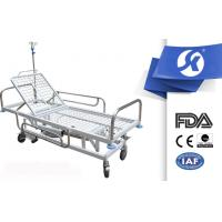 Buy cheap Mobile Medical Equipment Trolley Hospital Gurney 2 Years Warranty from wholesalers