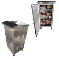 Buy cheap Stainless Steel Cabinet 380V 30KVA Voltage Control Stabilizer from wholesalers
