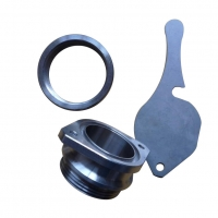 Buy cheap Sandblasting Finish Ra3.2 0.002mm CNC Stainless Steel Parts from wholesalers
