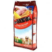 Buy cheap Heavy Duty Quad Seal Pet Food Packaging / Side Gusseted Pet Food Bag 15kg from wholesalers