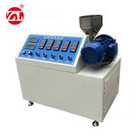 Buy cheap Single Screw Extruding Rubber Testing Machine Plastic Pellets Making / Lab Use from wholesalers