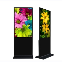 Buy cheap Indoor 43 49 55 65 Inch Floor Stands Lcd Android Digital Signage Display from wholesalers