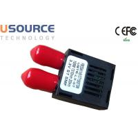 Buy cheap Industrial Temperature ST connector Duplex 1x9 Optical Transceivers 1310nm SMF 20km product