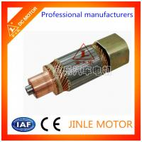 Buy cheap Jinle Commutator On The Electric Motor Armature Rotor With Bars OEM Service from wholesalers