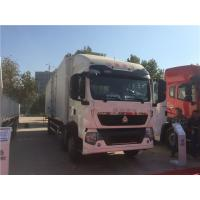 Buy cheap SINOTRUK HOWO 6*2 Drive Small Cargo Truck With Lorry Box Customized For Transportation from wholesalers