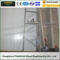 Buy cheap 75mm Thick Thermal Insulated Sandwich Panels PU Wall System Use from wholesalers