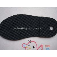 Buy cheap Men and women sole diamond pattern Durable TPR rubber sheets for shoe soles / outsole from wholesalers