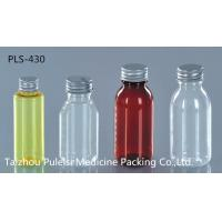 Buy cheap Capsule / Pill Pharmaceutical PET Bottles Clear Plastic Bottles With Lids from wholesalers
