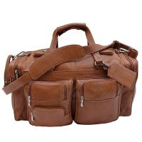 Buy cheap Genuine Leather Travel Duffel Bags Fashionable For Young Men / Women from wholesalers