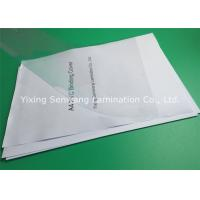 Buy cheap High Transparency 170 Mic PVC Binding Covers A3 Accurate Size Without Any Deviation from wholesalers