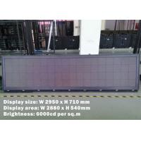 Buy cheap Outdoor Bus Led Display For Mexico Touring Company , SMD2525 bus led sign from wholesalers