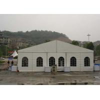 Buy cheap Wind Resistant Trade Show Tents 15M X 30M Customized Clear span Fabric Structures from wholesalers