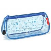 Buy cheap Transparent Triangular PVC Cosmetic Organizer Pouches PVC Cosmetic Pouches from wholesalers