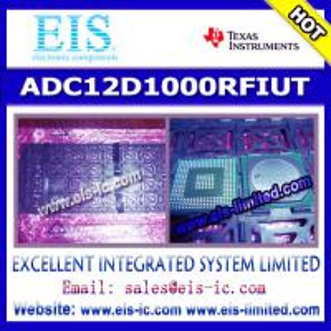 Buy cheap ADC12D1000RFIUT - Texas Instruments (TI) - ADC12D1600/1000RF 12-Bit, 3.2/2.0 GSPS RF Sampling ADC product