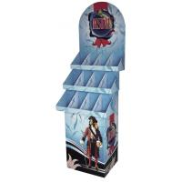 Buy cheap Trapezoid Paper Greeting Card Cardboard Display Stands For Retail from wholesalers