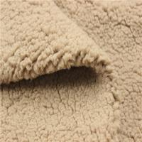 Buy cheap Professional Soft Sherpa Fabric Cloud Sherpe Throw Textile Plush Fabric from wholesalers