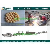 Buy cheap Puffed Corn Onion Ring Puff Snack Machine , Snack Food Extruder Machine from wholesalers