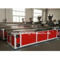 Buy cheap Door PVC Profile Production Line , Plastic WPC Board Manufacturing Machine from wholesalers