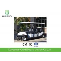 Buy cheap Powerful DC Motor Electric Golf Carts 8 Seats for Restaurant Hotel Resort Sightseeing from wholesalers