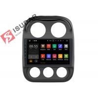 Buy cheap 10.1 Inch Single Din Touch Screen Car Stereo , Jeep Compass Gps Navigation System product