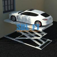 Buy cheap 3T 5.6M Hydraulic Scissor Car Lift For Home Garage Portable / Heavy Duty Scissor Lift Table from wholesalers