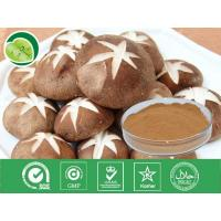 Buy cheap 100% natural herbal type polysaccharide 10%-40% shiitake mushroom extract -Lentinula edode from wholesalers