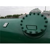 Buy cheap High Pressure Gas Storage Tanks For Emergency Oxygen Horizontal Low Alloy Steel Material from wholesalers