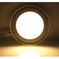 Buy cheap led panel light glass material dimmable RGB color high quality from wholesalers