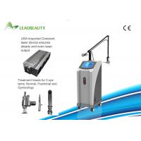 Buy cheap Fractional CO2 laser skin care/ skin resurfacing/wrinkle removal  for acne scar removal machine from wholesalers