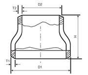 Buy cheap Carbon steel concentric reducer from wholesalers
