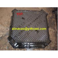Buy cheap Ductile Iron Cast Manhole Cover GGG500-7 from wholesalers