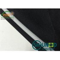 Buy cheap Black fusible interfacing Fabric Thermo Polyester Adhesive Bleach White from wholesalers