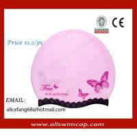 Buy cheap swimming hat,rubber swim hats with custom logo,Best price swim hats from wholesalers