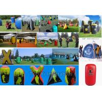 Buy cheap Sports CS Games Inflatable Paintball Bunkers Set With 3 Years Warranty from wholesalers