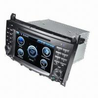 Buy cheap 7-inch Car DVD Player for Benz C-Class W203, CLK W209 with GPS Digital TV FM from wholesalers