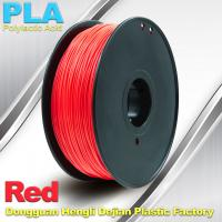 Buy cheap PLA  Filament, 1.0kg /  roll ,1.75mm / 3.0mm  3D Printer Filament Red colors from wholesalers