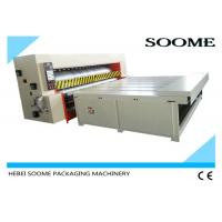 Buy cheap Economical Type Corrugated Packaging Machinery , Semi Auto Die Cutting Machine Chain Rotary Roller from wholesalers