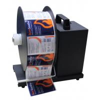 Buy cheap R130 electric label rewinder and unrewinder Tags gyrator,barcode retractor,bar wrap product