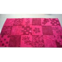 Buy cheap 100% Cotton Jacquard Velour Beach Towel (HB-010) from wholesalers