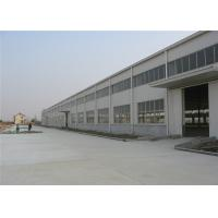 Buy cheap prefabricated industrial steel structure workshop / industrial shed building for sale from wholesalers
