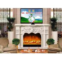 Buy cheap Indoor Wooden Remote Control Electric Fireplaces TV Stands European Style from wholesalers