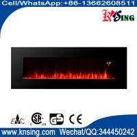 """Quality 50"""" long linear wall mounted fireplace WF-50FS 2000W real flame comfort smart space heater indoor room decoration for sale"""