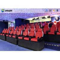 Buy cheap SGS Certificate 6D Motion Theater 24 Seater Dynamic System Mini Cinema Equipment product