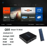 Buy cheap QINTAIX Hot Amlogic S805 TV Box with Quad Core smart TV box Support H.265 Q05 ITPV channels from wholesalers
