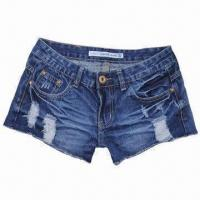 Buy cheap Shorts Jeans, Fashionable Style for Girls from wholesalers