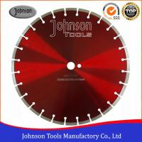 Buy cheap 400mm Dry Cut Diamond Blade , Concrete Cutting Saw For Soft /  Hard Construction Materials from wholesalers