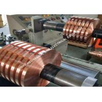 Buy cheap C1100 Red Copper Foil Strip Tape Soft Temper For Electric Power Industry from wholesalers