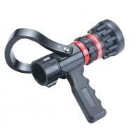 Buy cheap Flow Aluminum / Brass Fire Hose Nozzle Storz Type With Pistol Grip Adjust product