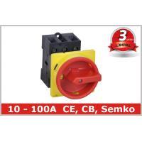 10A 16A 20A 25A 32A 40A 50A 63A 80A 100A Rotary Isolating Switch Rear mounted