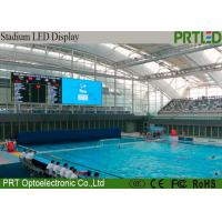 Buy cheap 2 Years Warranty P6 Stadium LED Screens For Sports Perimeter Advertising from wholesalers